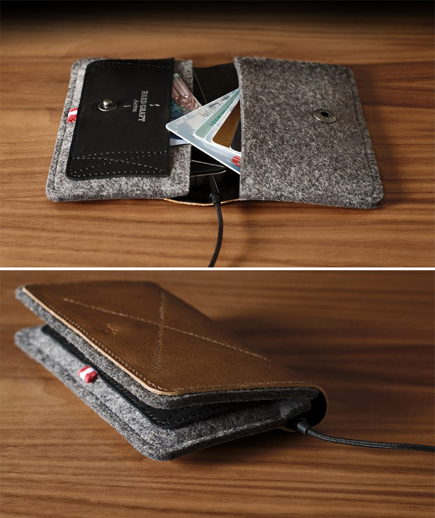 Hard Graft iPhone Fold Wallet at werd.com