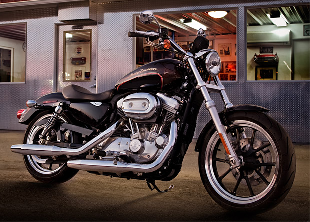 2011 Harley Davidson Sportster Superlow at werd.com