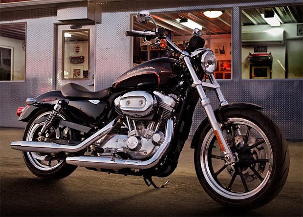 2011 Harley Davidson Sportster Superlow at werd.com