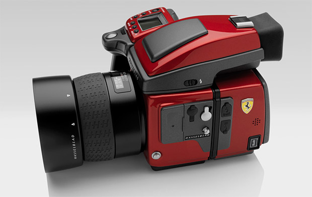 Hasselblad x Ferrari H4D Limited Edition Camera at werd.com
