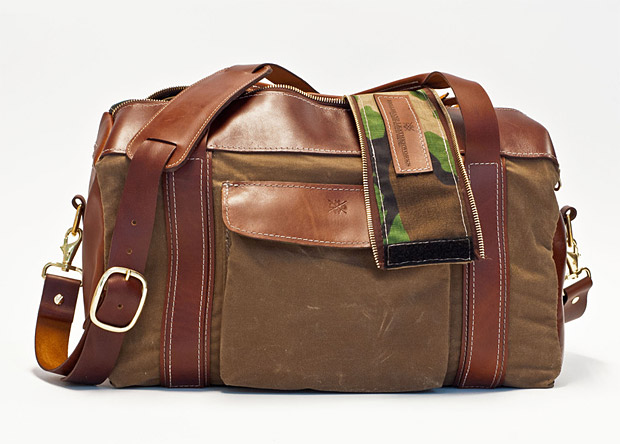 Hellbrand Leather Smuggler's Duffel at werd.com
