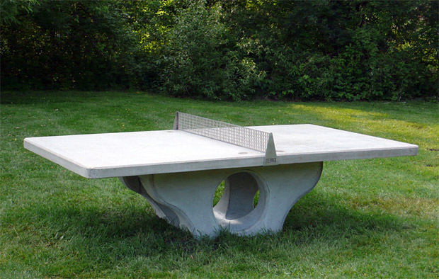 Henge Outdoor Ping Pong Table at werd.com