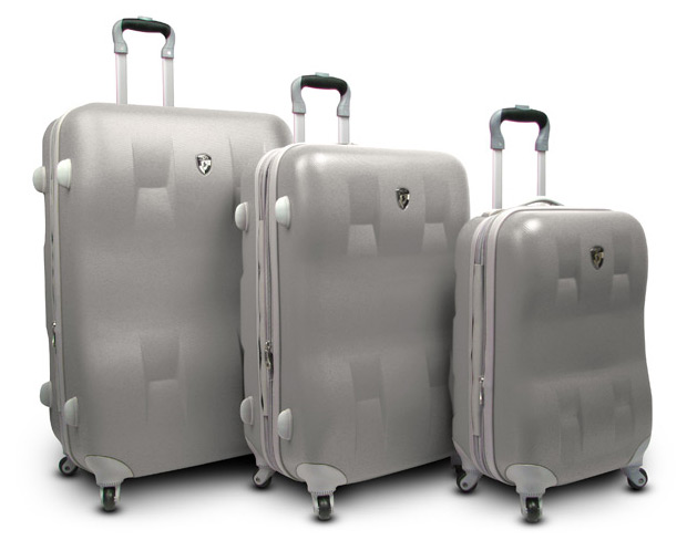 Heys Eco-Case 3-Piece Luggage Set at werd.com