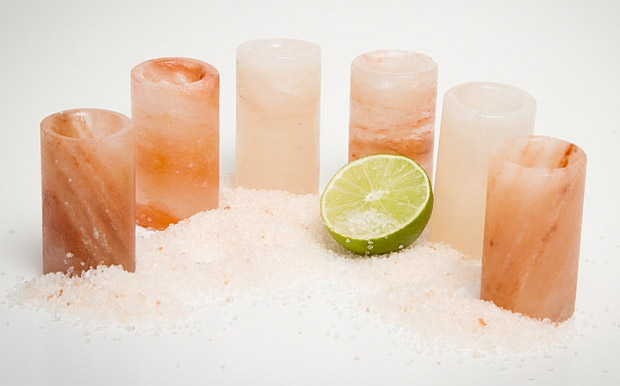 Himalayan Salt Tequila Glasses at werd.com
