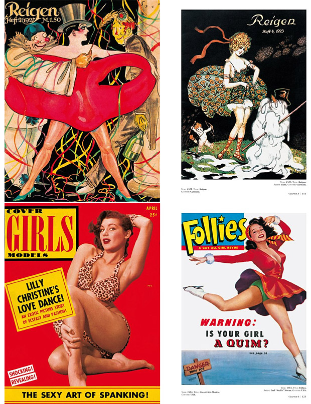 History of Pin-up Magazines at werd.com