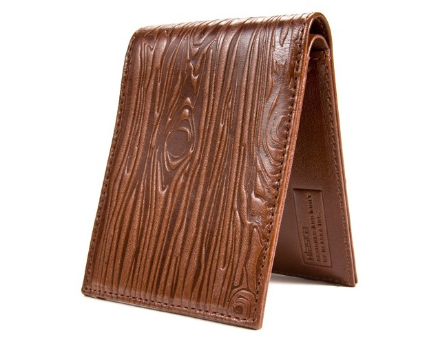 Hlaska Evergreen Billfold at werd.com