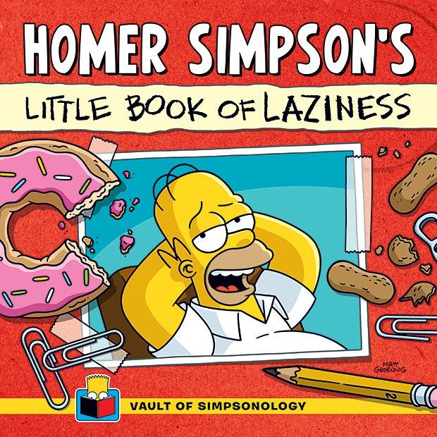 Homer Simpson's Little Book of Laziness at werd.com