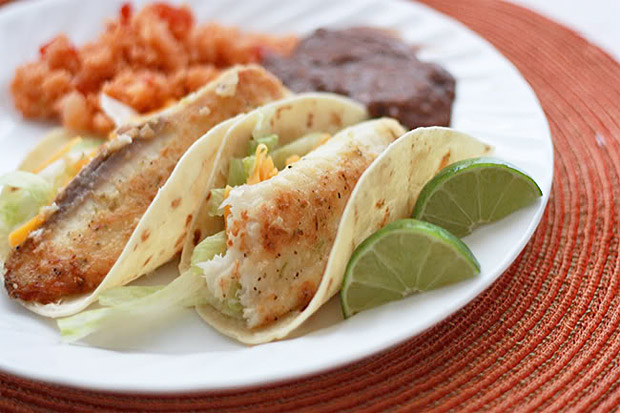 Honey Lime Fish Tacos at werd.com