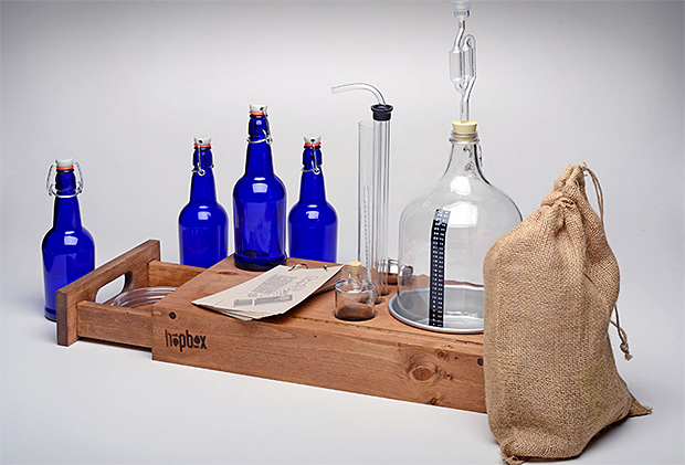 HopBox Handcrafted Brewing Kits at werd.com