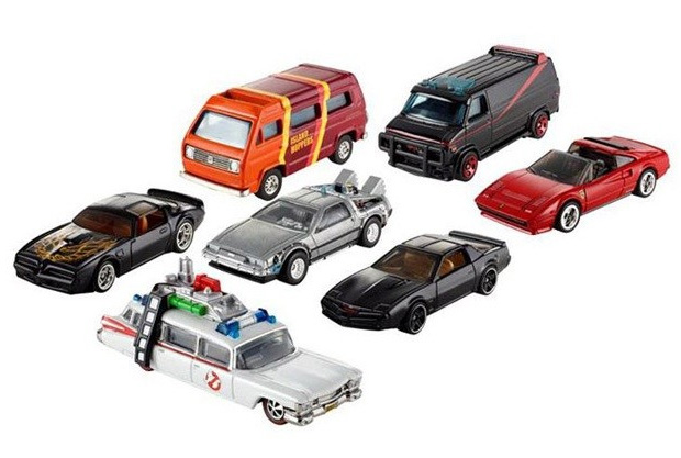 Hot Wheels Retro Entertainment Series at werd.com