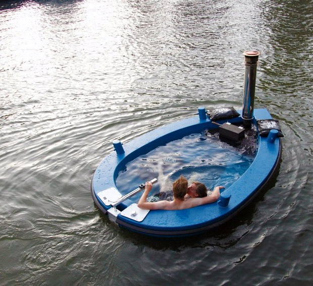 HotTug Hot Tub Boat at werd.com