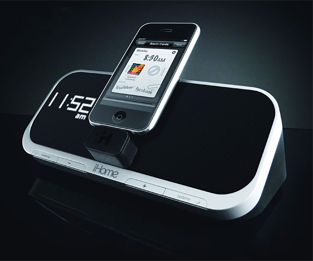 WIN! – iHome iA5 App-Enhanced Alarm Clock at werd.com