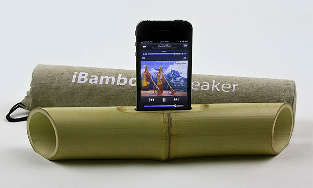 iBamboo iPhone Speaker Amplifier at werd.com