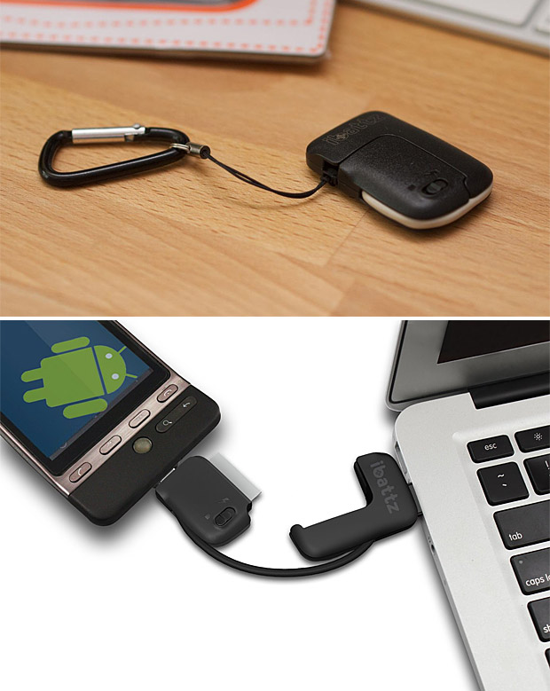 iBattz Mojo Treble Keychain Multitool at werd.com