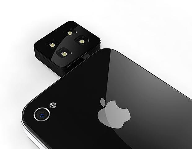iblazr LED Smartphone Flash at werd.com
