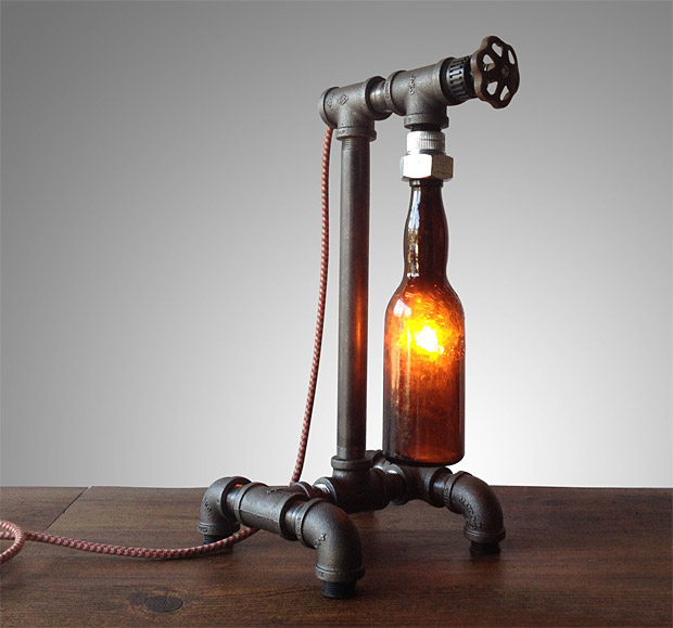 Industrial Brewery Lamp at werd.com
