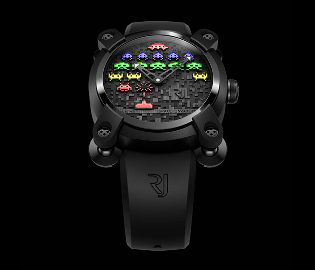 Romain Jerome Space Invader Watch at werd.com