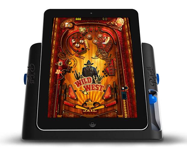 iPad Pinball Game Console at werd.com
