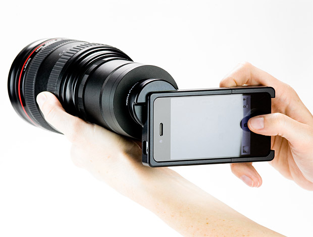 iPhone SLR Mount at werd.com