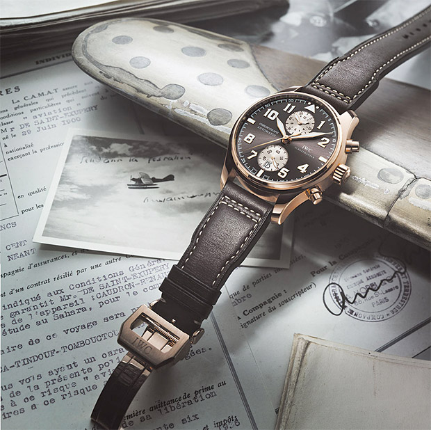 IWC Pilot&#8217;s Chronograph Edition Antoine de Saint Exupry at werd.com