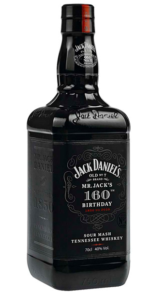 Jack Daniels' Mr. Jack 160th Birthday Bottle at werd.com