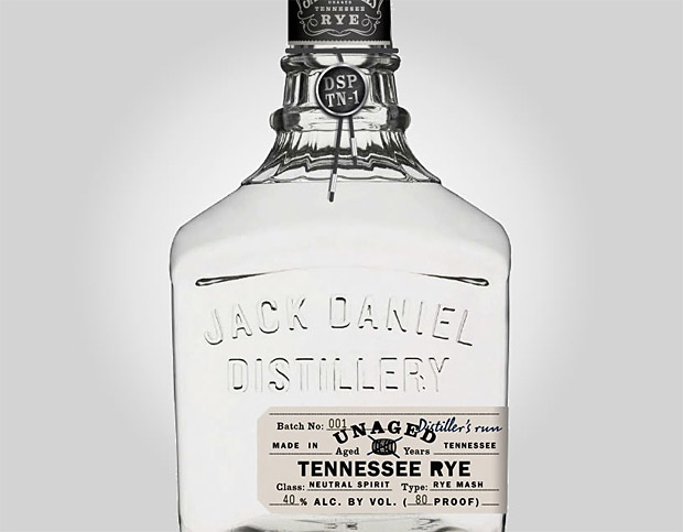 Jack Daniels Unaged Rye Whiskey at werd.com