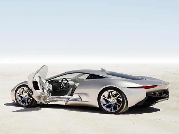 Jaguar C-X75 Going To Production at werd.com
