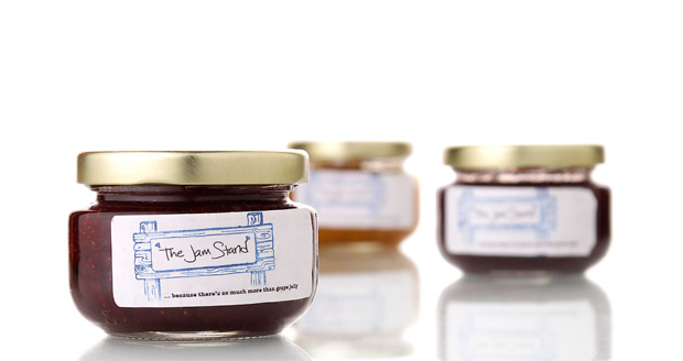 The Jam Stand Liquor Infused Jams at werd.com