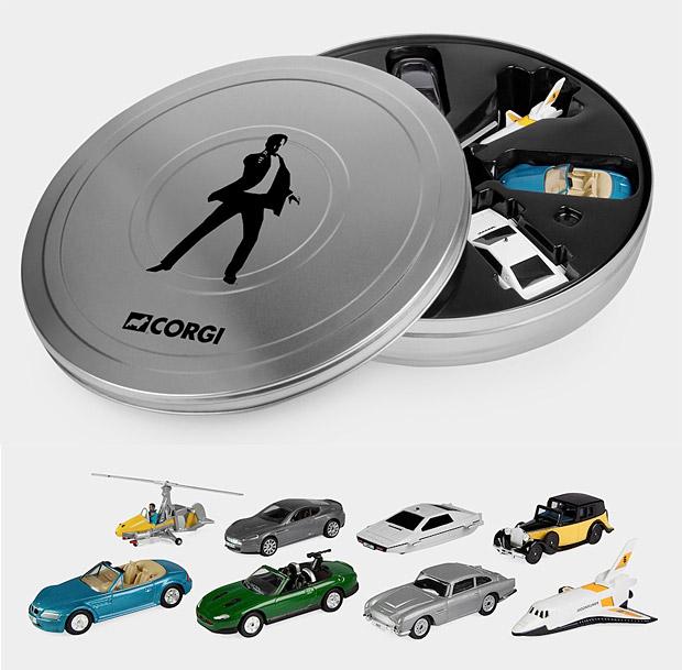 James Bond 007 Miniature Vehicles Set at werd.com