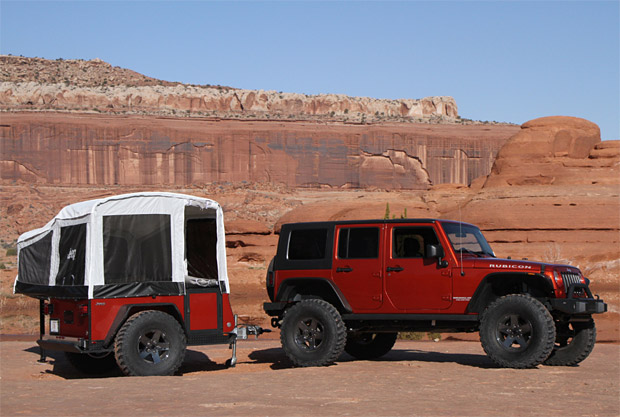 Jeep x Mopar Off-Road Camper Trailer at werd.com