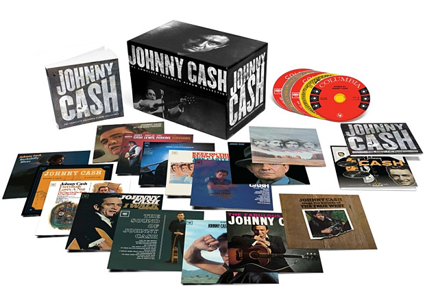 Johnny Cash: The Complete Columbia Album Collection at werd.com