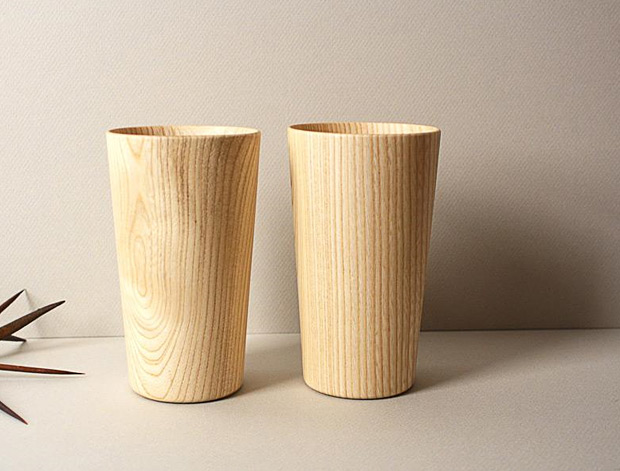 The Kami Series Wood Cup at werd.com