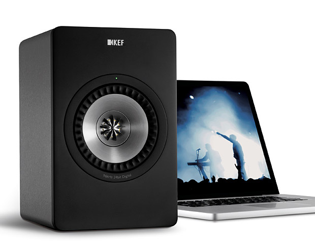 KEF X300A Computer Speakers at werd.com