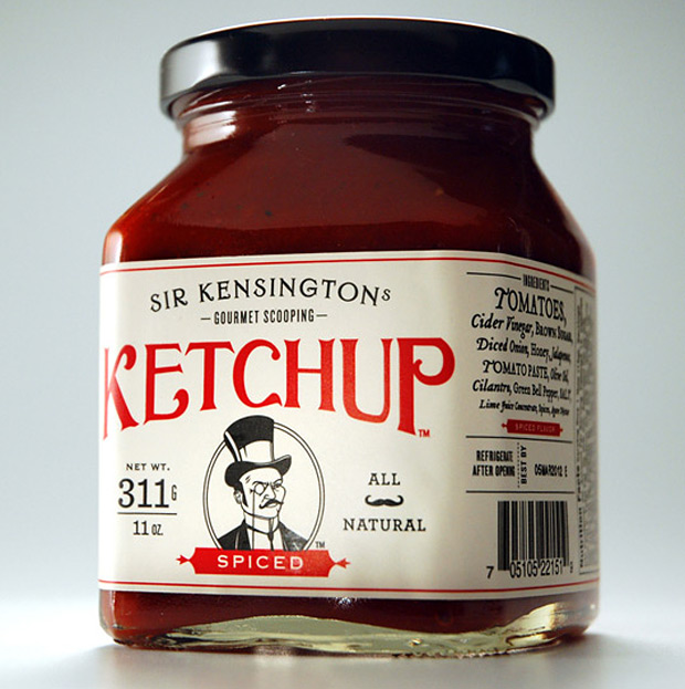 Sir Kensington&#8217;s Gourmet Scooping Ketchup at werd.com
