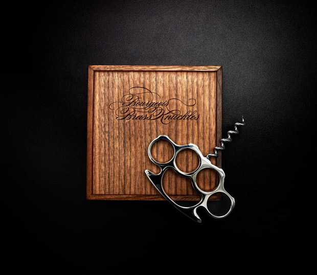 Brass Knuckle Corkscrew at werd.com