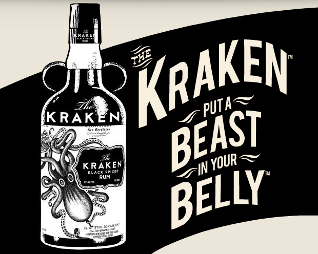 Kraken Black Spiced Rum at werd.com