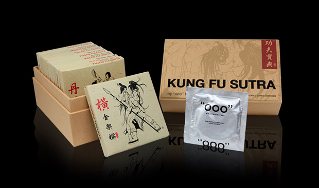 Kung Fu Sutra Condoms at werd.com