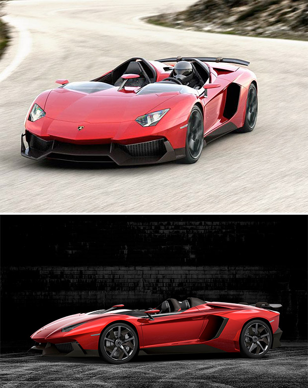 Lamborghini Aventador J at werd.com