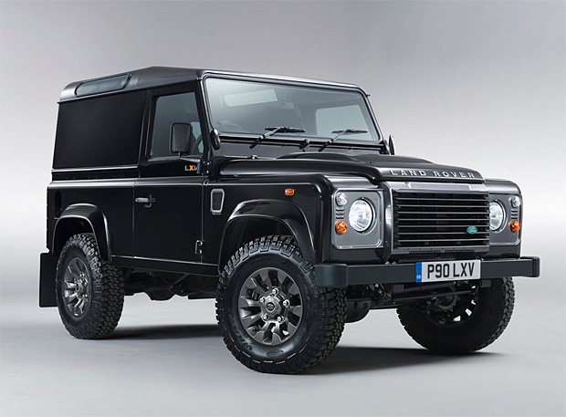 Land Rover Defender LXV Special Edition at werd.com