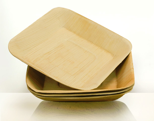 Palm Leaf Dinnerware at werd.com