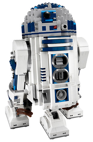 The Ultimate Collector Series R2 D2 by Lego