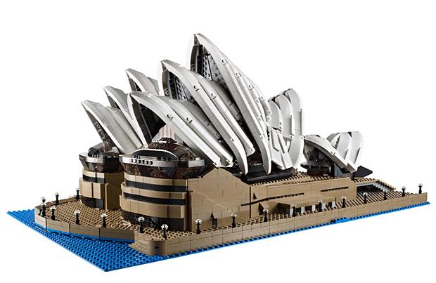 Lego Sydney Opera House at werd.com