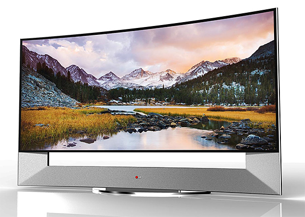 LG 105-inch Curved Ultra HD TV at werd.com