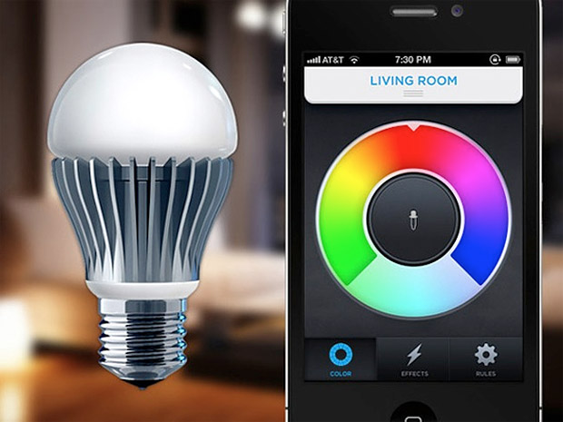 LIFX WiFi Enabled LED Light Bulb at werd.com