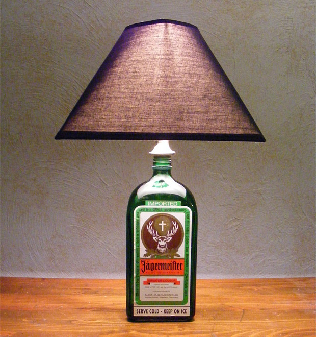 Liquor Bottle Lamps at werd.com