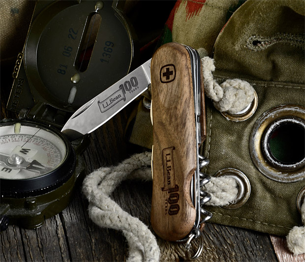 L.L.Bean 100th Anniversary Swiss Army Knife at werd.com