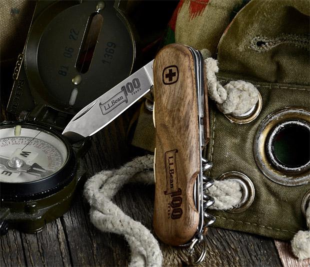 L.L.Bean 100th Anniversary Swiss Army Knife at werd.com