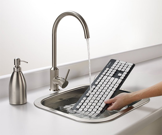 Logitech Washable Keyboard at werd.com