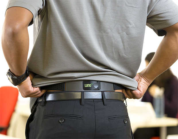 LUMOback Posture Sensor at werd.com