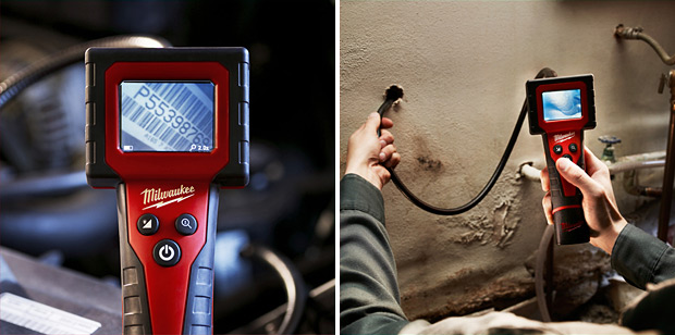 Milwaukee M-Spector Digital Inspection Camera at werd.com